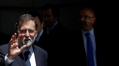 Spain's PM Mariano Rajoy survives no-confidence vote