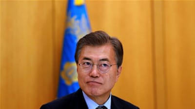 On China, Moon has extended an olive branch to Beijing by indicating his desire to 'negotiate' on the issue of THAAD in concert with the US,