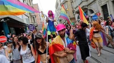 Istanbul LGBT march banned over 'security concerns'