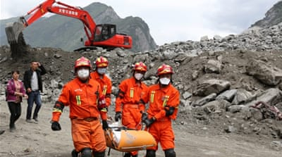 Hopes fade in grim search for Xinmo landslide survivors