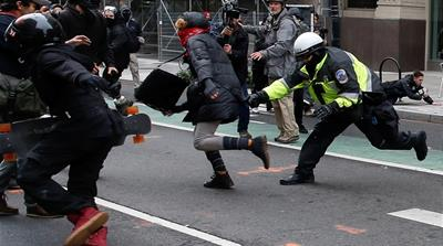 US drops charges against all J20 anti-Trump defendants