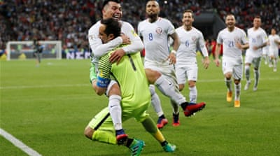 Chile beat Portugal to reach Confederations Cup final
