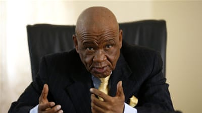 Thomas Thabane sworn in as Lesotho's prime minister