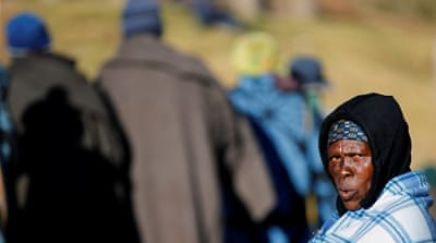 Calls for government of national unity in Lesotho