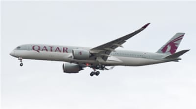 Qatar's flag carrier will also have to stop flights to places like Dubai, Abu Dhabi, and Cairo [EPA]