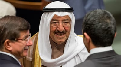 Kuwaiti Emir returns home after crisis talks in Riyadh