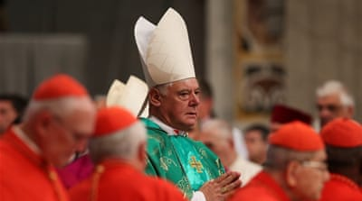 Pope sacks Vatican cardinal handling abuse cases
