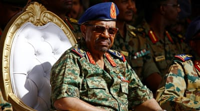 Bashir is wanted by the International Criminal Court for genocide and war crimes, charges he steadfastly denies [AFP]