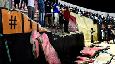 Eight dead in Senegal football stadium stampede