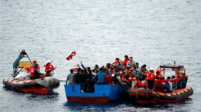 Defend Europe boat tries to block migrant rescues