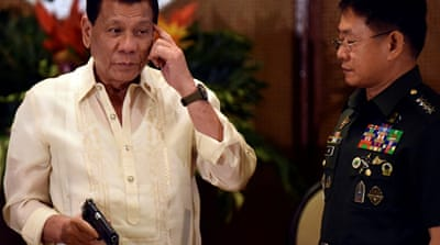 Duterte seeks to extend martial law amid ISIL threat