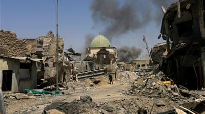 ISIS being defeated in Mosul