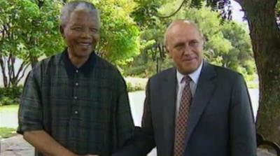 Mandela and de Klerk - Face to Face  [Al Jazeera]