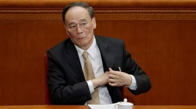 China punishes 210,000 officials for corruption