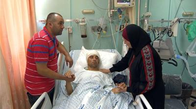 Palestinian hospitals stretched with influx of wounded