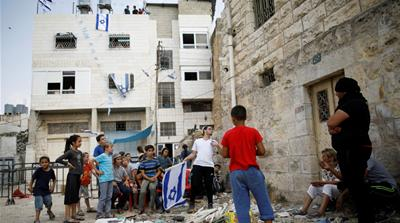 Israeli settlers have taken over a home from a Palestinian family in Hebron [File: Amir Cohen/Reuters]
