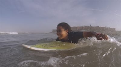 Making Waves: Morocco's Surfer Girl
