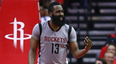 NBA: Harden pens $160m contract extension with Rockets