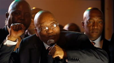 How did Zuma survive yet another no-confidence vote?