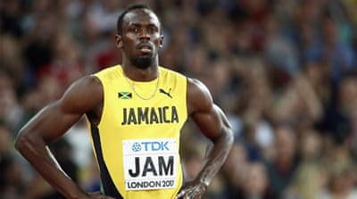 Sad farewell as Bolt ends glittering career with injury