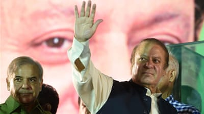 Nawaz Sharif calls for revolution as Lahore trek ends