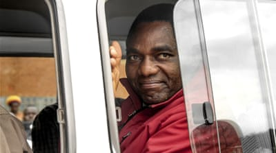 Hakainde Hichilema pleads not guilty to treason charges