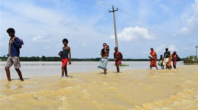 South Asia floods: Affected areas and people impacted