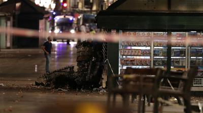 Van attack that killed at least 13 people in Barcelona is the latest assault on a European city [Reuters]