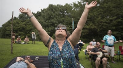 'A new beginning': Pagans celebrate total solar eclipse