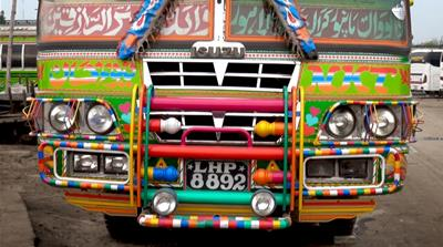 Transforming Pakistan's buses into art