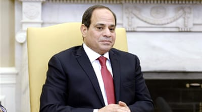 US to withhold $290m in Egyptian aid over human rights