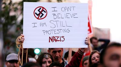 'Adopt a Nazi': How groups are countering neo-Nazis