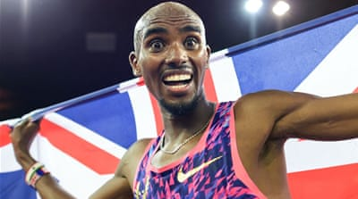 Mo Farah wins final track race in illustrious career
