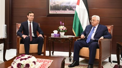 Kushner meets Abbas, Netanyahu to try to restart talks