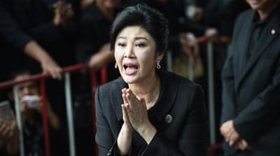 Thai military hunts for missing ex-prime minister