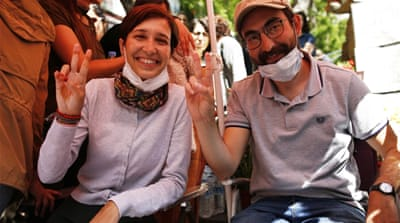 ECHR rejects bid to release Turkey's Ozakca and Gulmen