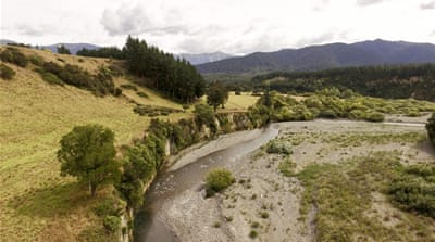 What is the problem with New Zealand's water sources?