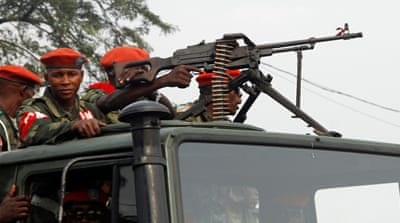 Congo security forces kill at least 14 in rebel clashes