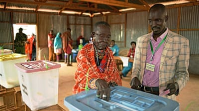 Kenya goes to the polls in closely contested election
