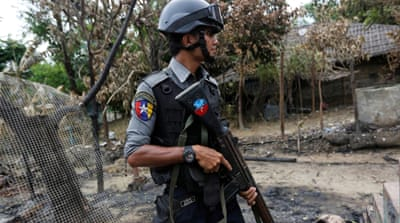 Who is selling weapons to Myanmar?