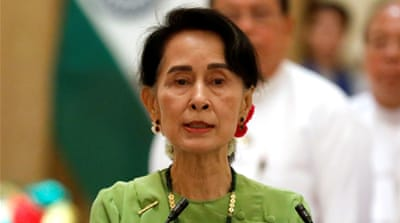 Suu Kyi urged to condemn violence against the Rohingya