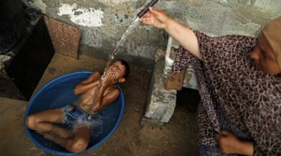 Gaza's drinking water spurs blue baby syndrome, serious illnesses