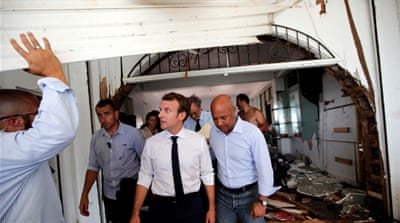 Macron: France will rebuild St Martin island after Irma