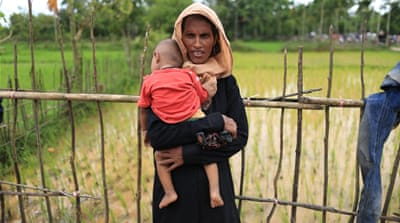 Myanmar's Rohingya beg for help: 'People are starving'