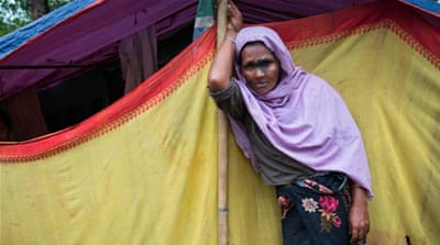 Message to the world from Nasima Khatun, a Rohingya