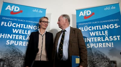 Polls suggest jump in German far-right party's support