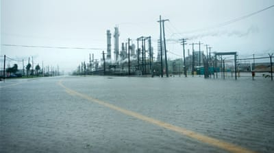 Hurricane Harvey's impact on the US oil industry
