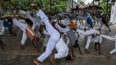 Using Capoeira to heal trauma for former child soldiers