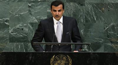 Sheikh Tamim takes Gulf crisis to global audience