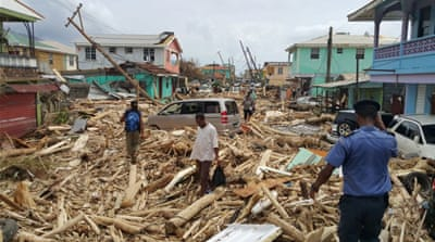 Hurricane Maria leaves at least 15 dead in Dominica